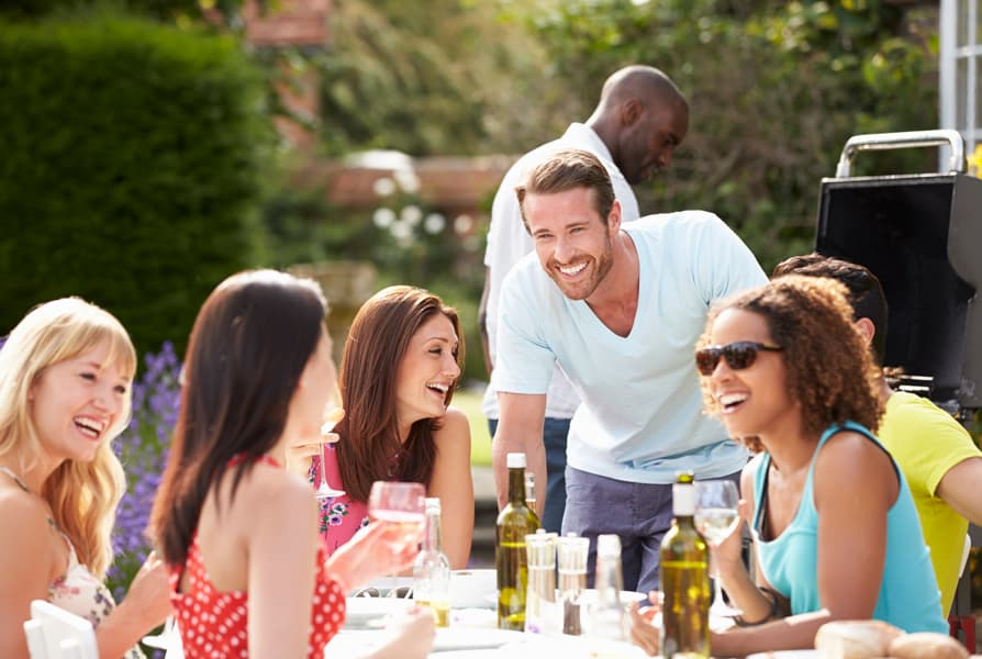 Grilling Brings Friends Together