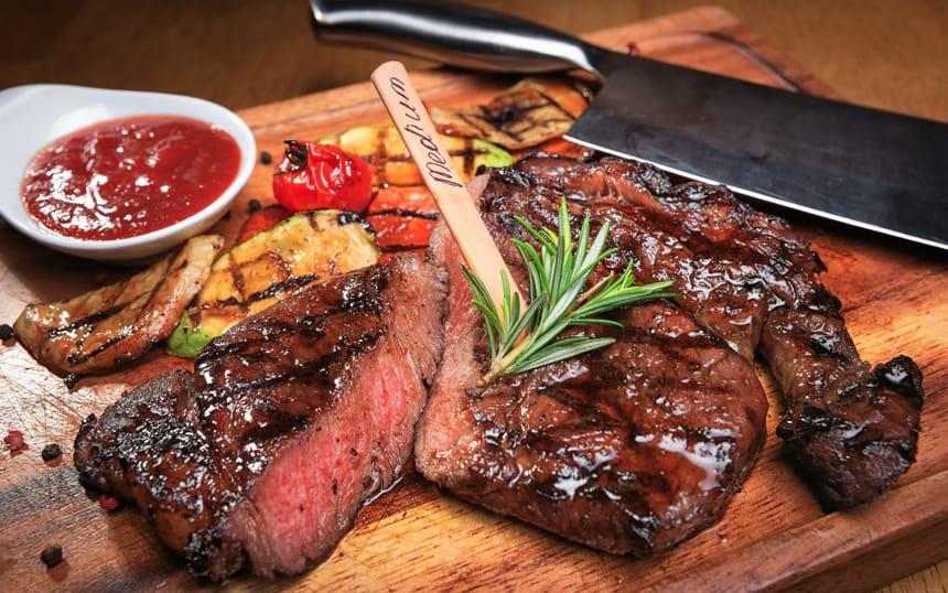Great grilled steak